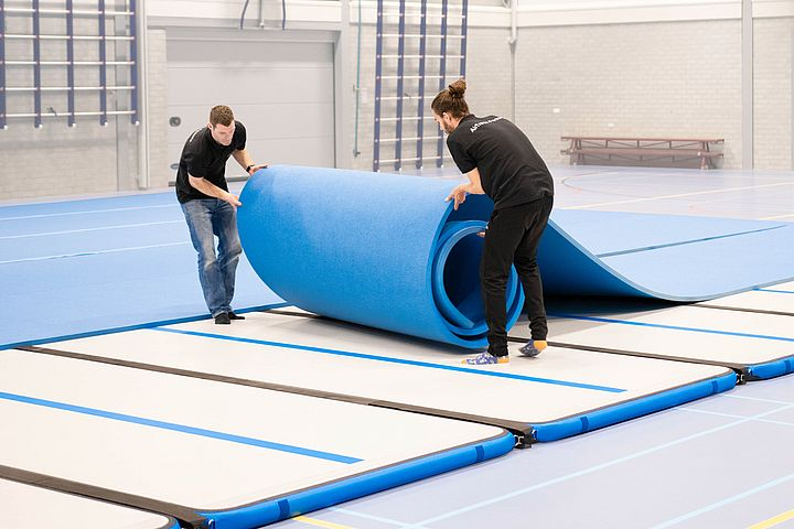 ILIMSY Air Track Inflatable Tumbling Mat Air   Amazoncom