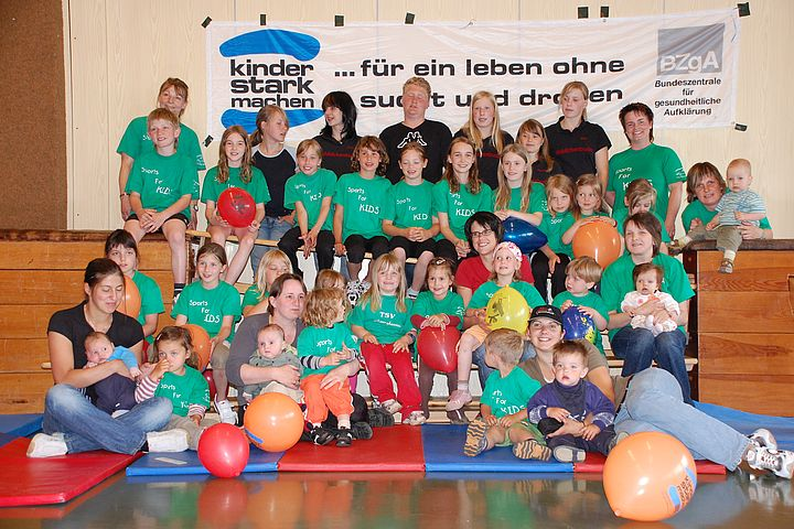 Kindergruppe, Kinder-stark-machen, Kinderturn-Club