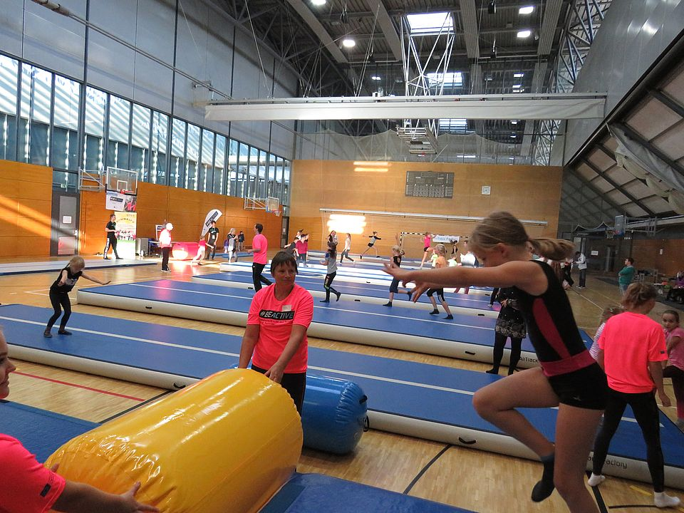 #BeActive Airtrack Night in Leipzig | Bildquelle: Gerolf Weber